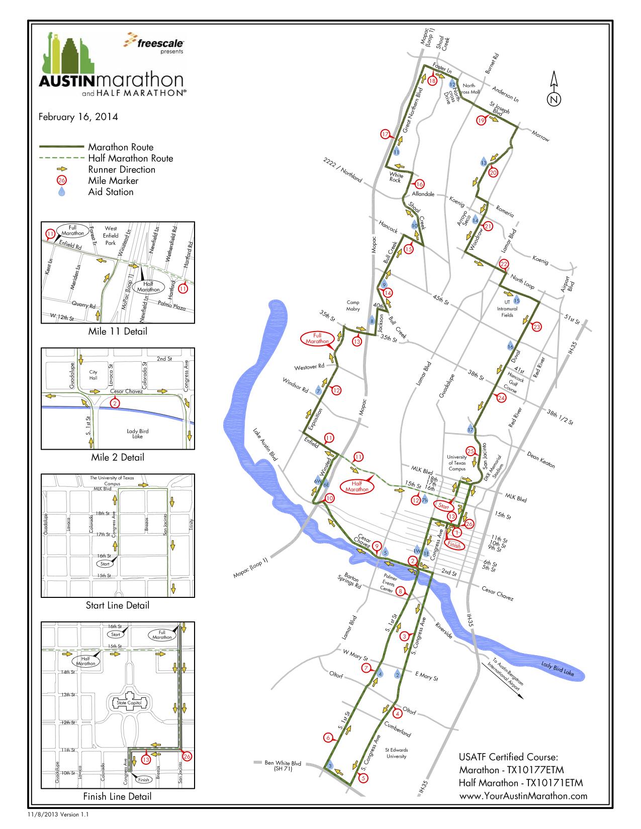2014 Austin Marathon Amp Half Marathon Guide