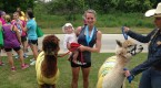 Alpacas and Ponies at the Zooma Texas Half Marathon, 10k, and 5k