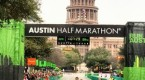 David Fuentes wins the 2015 Austin Half Marathon with a time of 1:07:30.