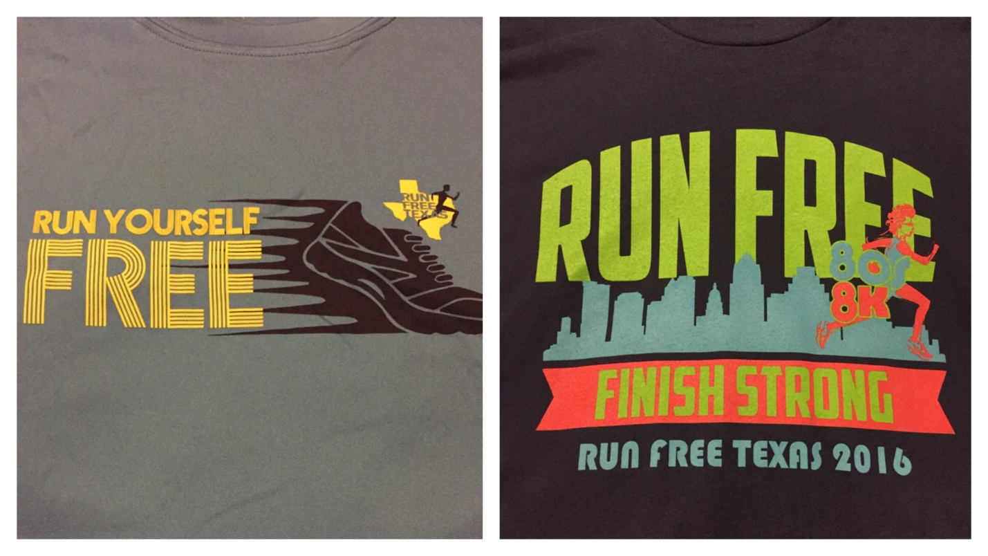 Race Report: Run Free Texas '80s 8K