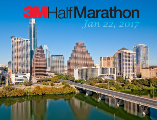 2017 3M Half Marathon and a Dose of Texas Wind