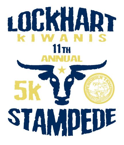 11th Annual Lockhart Kiwanis 5K Stampede & 1K