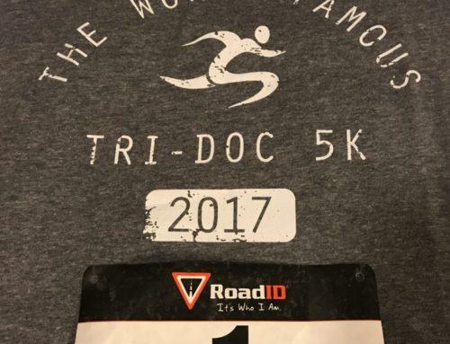 Tri Doc 5K: Melissa's race report