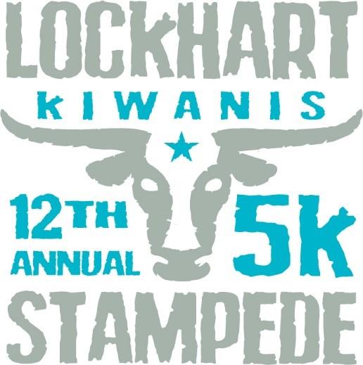 12th Annual Lockhart Kiwanis 5K Stampede and 1K Fun Run