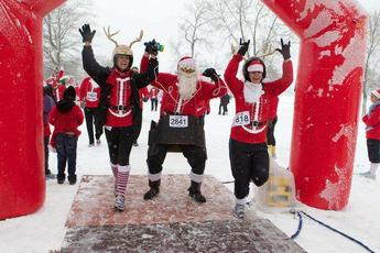 Santa Hustle® Pennsylvania 5K