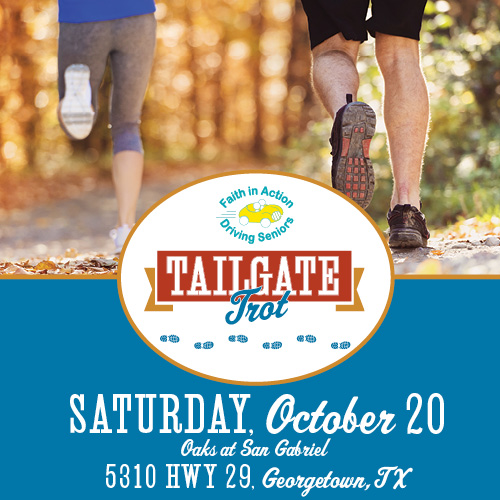 Tailgate Trot Benefitting Faith in Action