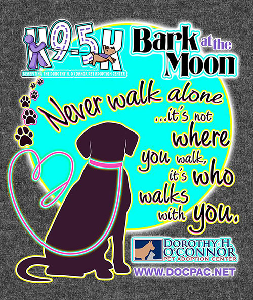 "K9-5K ""Bark at the Moon"" Night Run/Walk"